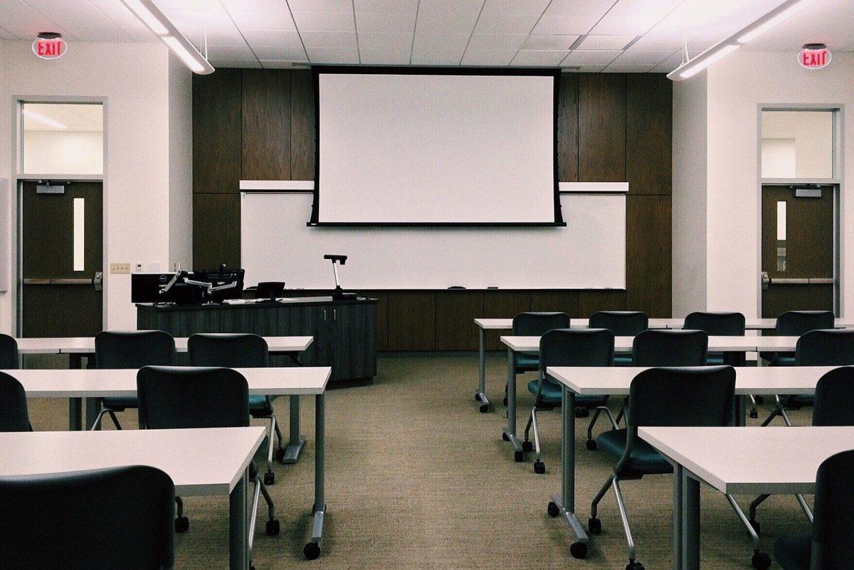 講義の風景の画像